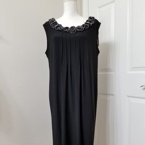 Another Thyme black sleeveless dress 16 Used